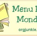 Menu Plan Monday – Family Favorites