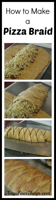 How to Make a Pizza Braid :: AmysFinerThings.com