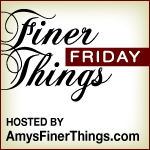 finer things friday Mini Caprese Salad Skewers