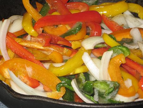 Peppers for Fajitas