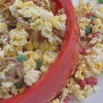 salty sweet party popcorn