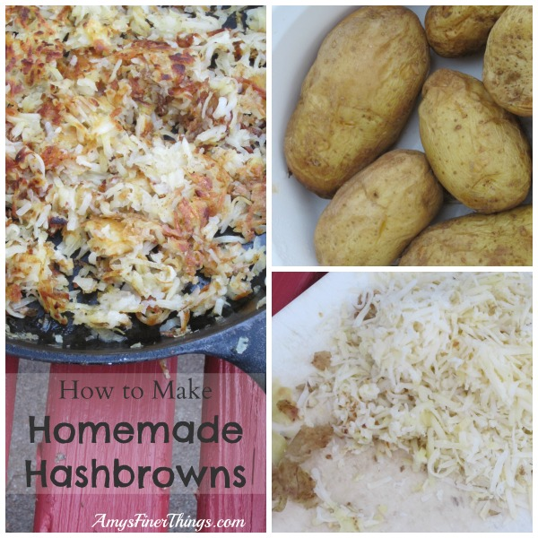 How to Make Homemade Hashbrowns