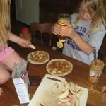 Peanut Butter Honey Roll-Ups