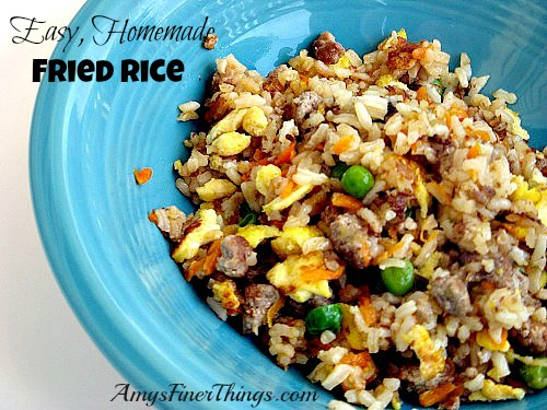 """Take Out"" Fried Rice at Home ~ Click for recipe."
