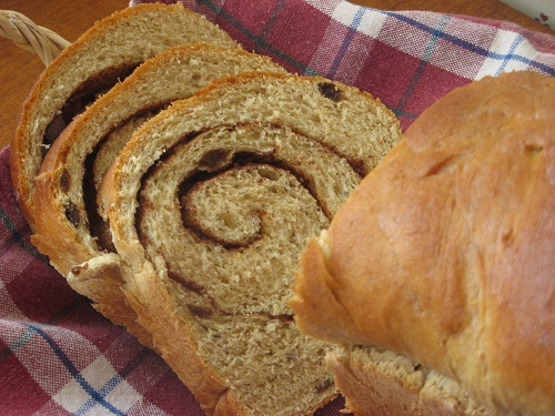 Cinnamon-Swirl Raisin Bread Recipe — Dishmaps