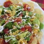 chicken salsa nachos