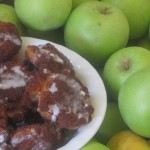 cinnamon apple fritters