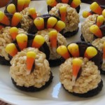 Turkey Rice Krispy Treats