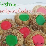 Festive Thumbprint Cookies