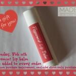 valentine lip balm
