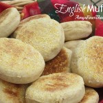 Recipe for Homemade English Muffins at AmysFinerThings.com