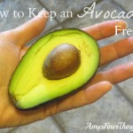 How to Keep an Avocado Fresh