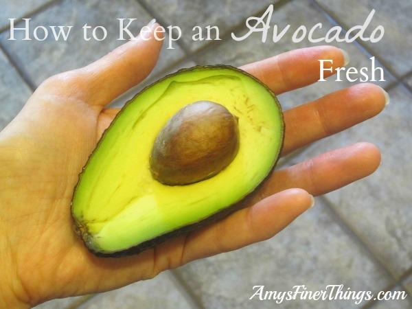 How to Keep an Avocado Fresh