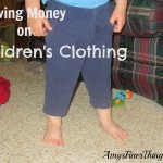 Because Kids Keep Growing {Saving Money on Children's Clothing}