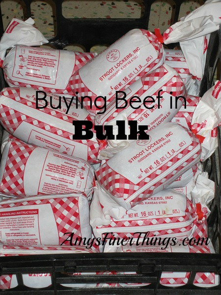 Buying Beef in Bulk