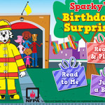 FREE App:  Sparky the Fire Dog