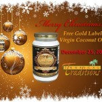 Free Quart of Coconut Oil with Purchase from Tropical Traditions