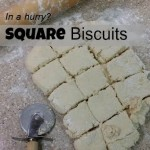 square biscuits
