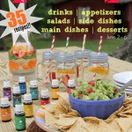 Citrus Fruit Dip with Essential Oils