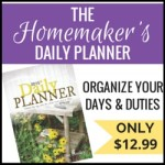 Homemaker's Friend Planner ~ FREE SHIPPING for Cyber Monday