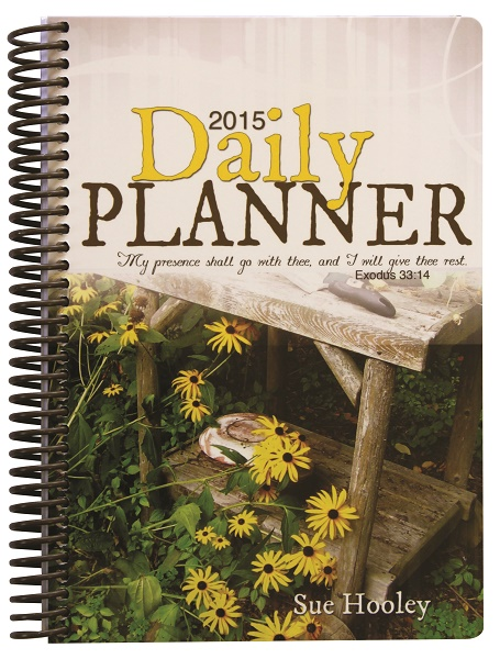 2015 Daily Planner with Spiral
