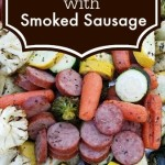Easy Roasted Veggies with Smoked Sausage