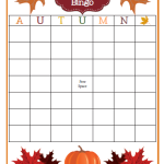 Fall BINGO {FREE Customizable Printable}